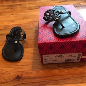 Tory Burch Miller Sandal Black